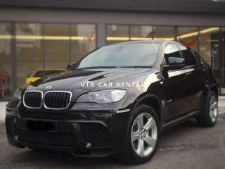 BMW X6 i35 d40 suv car king promo