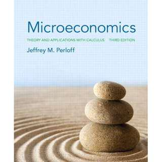 Microeconomics: Theory and Applications with Calculus (3rd Edition) Jeffrey Perloff