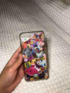 Customised retro sticker iPhone 7/8+ phone case