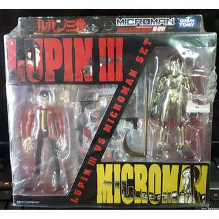 Lupin III vs Microman Set 40th Anniversary Special