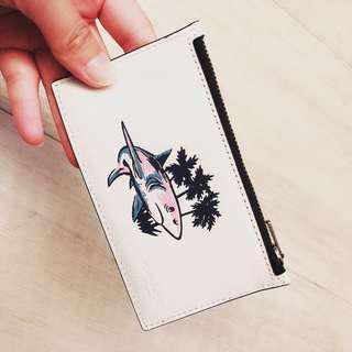 TW現貨 Coach 🦈卡片零錢包