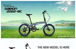 Garion Foldable Bicycle Garion G2022 BC