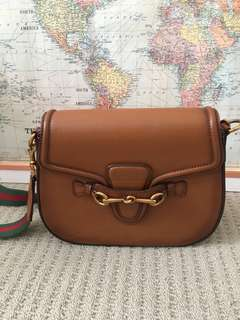 Gucci leather bag includes postage