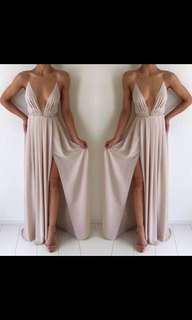New Nude Natalie Rolt Blossom Gown