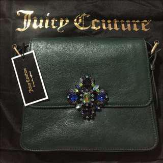 絕版全新Juicy Couture Swarovski Genuine Leather Handbag施華洛世奇