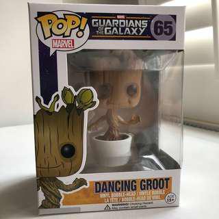 Funko Pop Dancing Groot Bobble Head