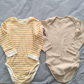Uniqlo Baby Rompers