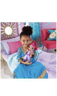 BN - Fisher-Price Nickelodeon Shimmer & Shine, Talk & Sing Shimmer Doll