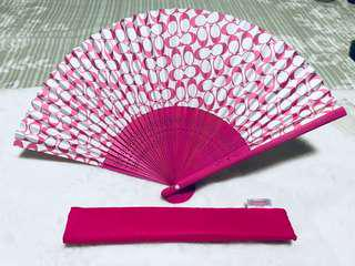 Authentic COACH Chinese style Paper Fan