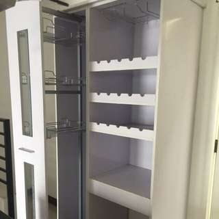REPRICED!!! SUPER SALE!!! Customized Pull Out Pantry With Wine Rack❤️👌