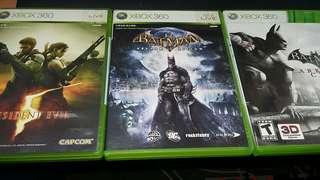Xbox360 batman, biohard 5