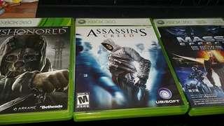Xbox 360 Game selecton 2