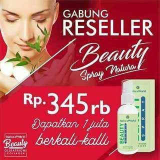 Natura world beauty spray