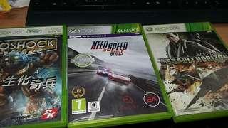 XBOX360 games selecton 3