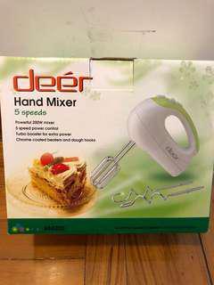 Brand new hand mixer 打蛋棒
