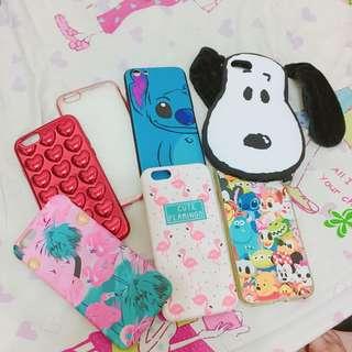 🚚 iPhone 6s手機殼 紅鶴 迪士尼 史努比 愛心 史迪奇