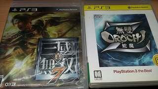 PS3 Games 無双