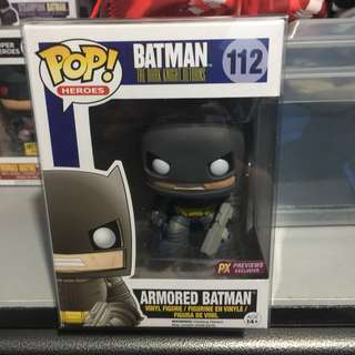 TDKR: Armored Batman PX