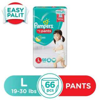 Pampers Baby Dry Large 66s