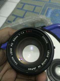 LENSA CANON 50mm 1.4 for fujifilm/canon eos