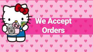 Personalized and Customized Orders Accepted