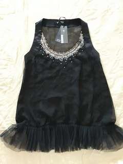 New blouse black EITA