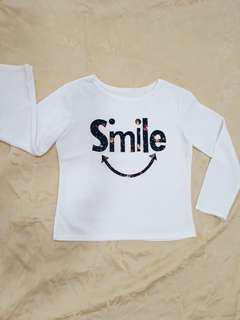 Blouse smile preloved