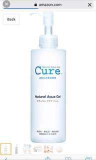 Cure Natural Aqua Gel 250G #letgo80