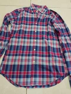 #maunintendo Summer plaid Shirt by J Crew