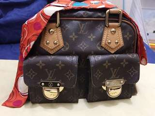 LV manhattan PM mono 2005 with db and receipt
