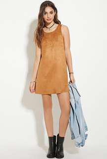 Forever 21 Suede Mini Dress