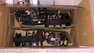Elantra stock suspension
