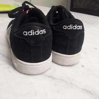 Adidas superstar line black white