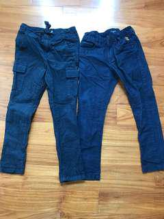 Almost new Sacoor Boys navy blue pants