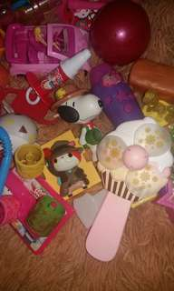 Mostly branded toys