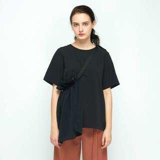 BNWT Shopatvelvet Petal Top - Black