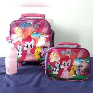 My Little pony trolley school bag backpack