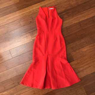 Cooper St Orange Mermaid Dress Size 6