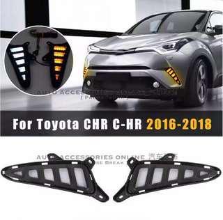 Toyota CHR 2016 - 2018 White / Yellow LED DRL Daytime Running Lights ( 2pcs )