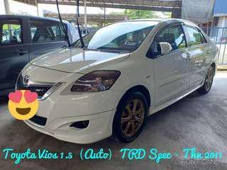 TOYOTA VIOS 1.5 (AUTO) TRD-SPEC,THN 2011,CAR KING‼️