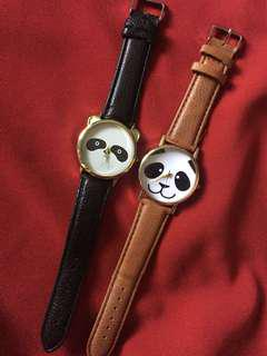 Bundle: Panda watches