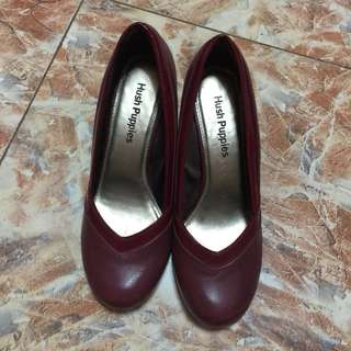 Hush Puppies Red Wedge
