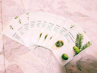Innisfree Facial Masks 10 Sheets Bija