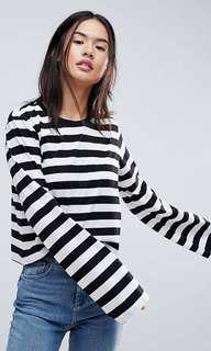 ASOS Wide Sleeve Crop