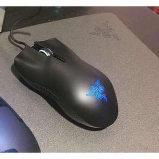 Used Razer Lachesis 5600DPI RGB and Razer Destructor Mousepad