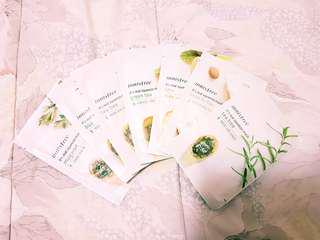 Innisfree Facial Masks - 7 Masks for $10