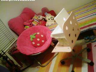 IKEA bedroom set of 4( bedframe, 2 chests, wardrobe)