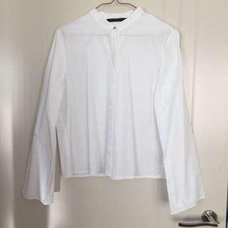Zara Wide Sleeve Blouse
