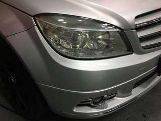 Mercedes w204 pre face lift headlights