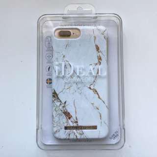 LAST ONE!! Fashion Case iPhone 8/7/6/6S PLUS Carrara Gold